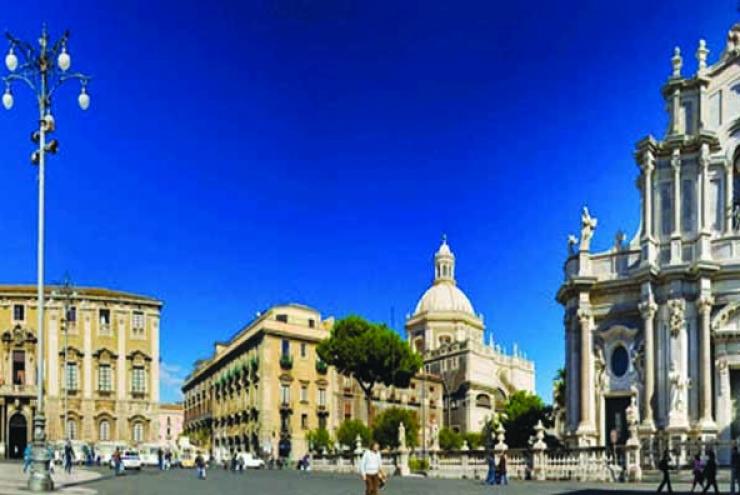 Malta manzaraları - ortaçağ Avrupa karakolları